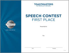 SpeechContestFirstPlace