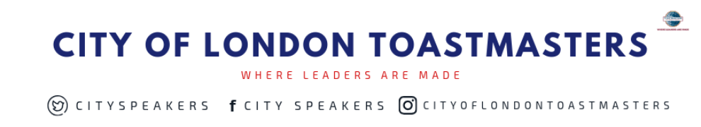 City of London Toastmasters - Become the Public Speaker you